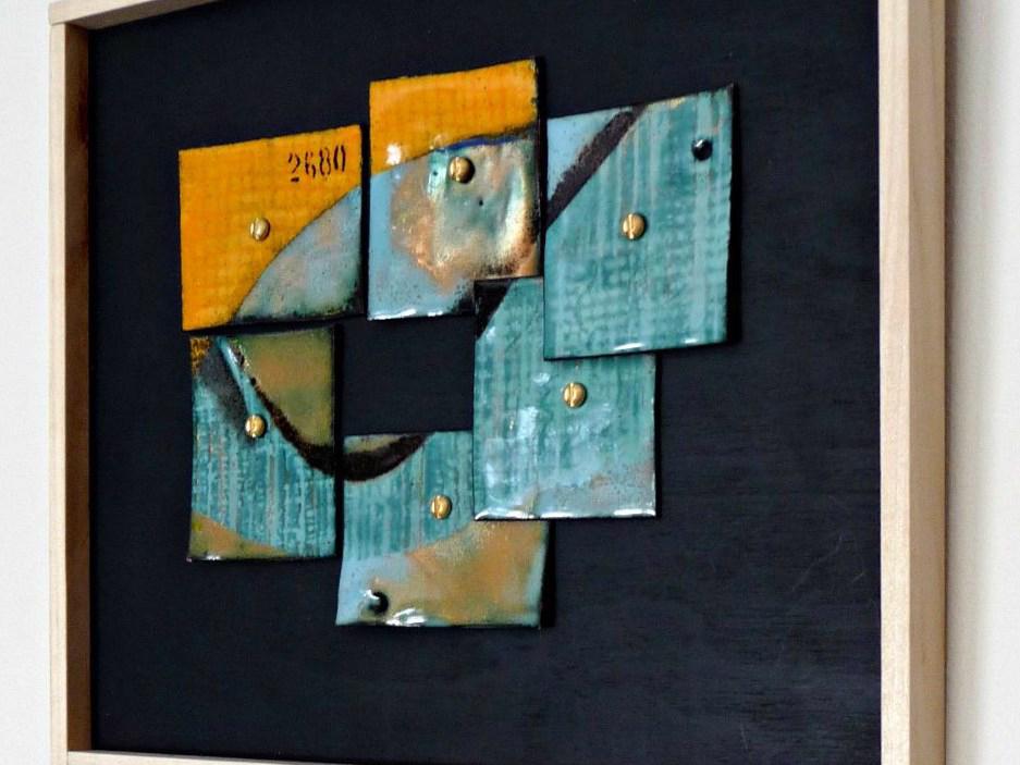 vitreous enamel on recycled copper--2680--by karen moody