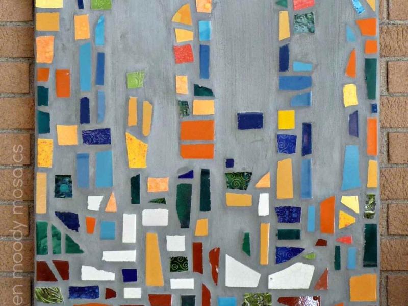 mosaic-Butterfly Garden-by karen moody