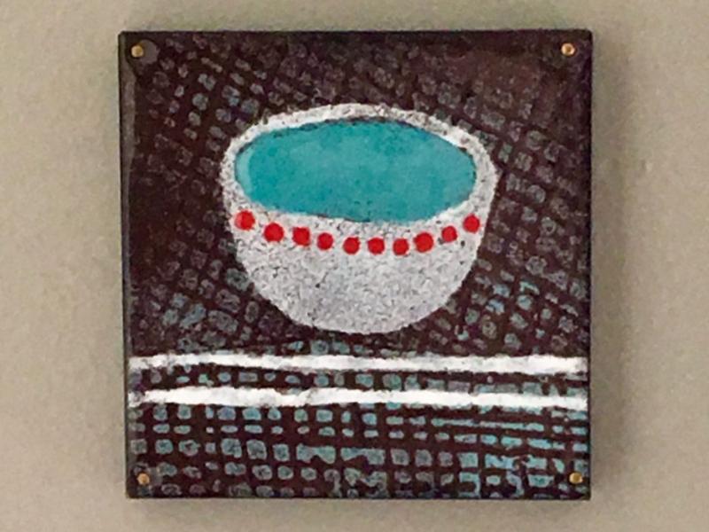 little blue bowl