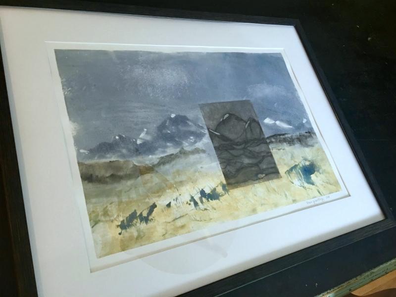 Mountain Precipice (a possible future) in frame